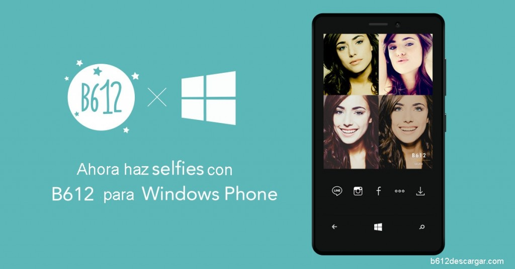 B612 para Windows Phone